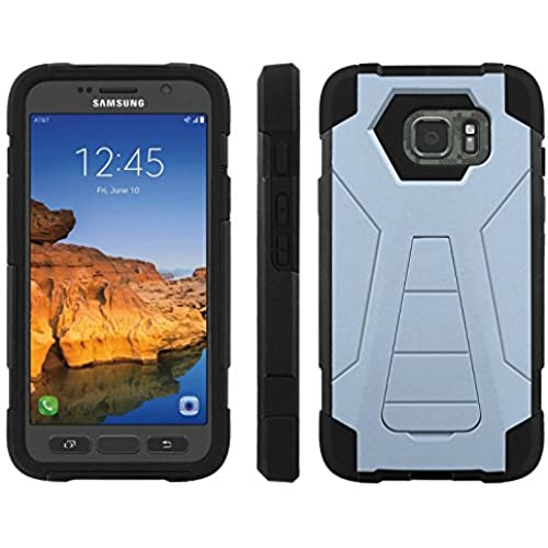 AT&T [Galaxy S7 Active] ShockProof Case [ArmorXtreme] [Black/Black] Hybrid Defender [Kickstand] - [Scuba Blue] for Samsung Galaxy [S7 Active] Sales