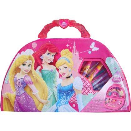 Girl's Pink Disney Princess Carry Along Full Art Set