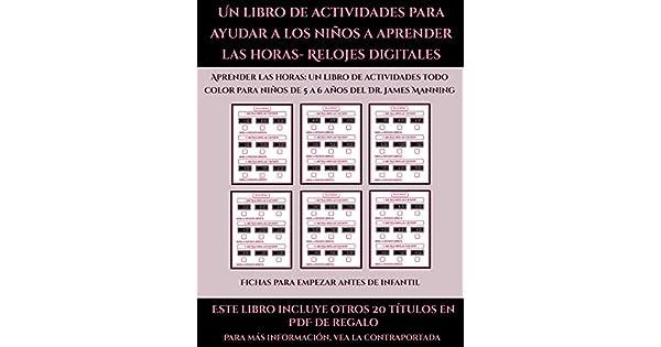 Amazon.com: Fichas para empezar antes de infantil (Un libro ...