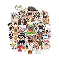 HaokHome S-006 176pcs Funny Dog Stickers for Laptop Kids Toys Kindergarten Classroom Bottle Computer Notebook Car Skateboard Motorcycle Bicycle Luggage Guitar Bike Stickers for Water Bottles