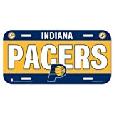 Indiana Pacers Official NBA License Plate by Wincraft