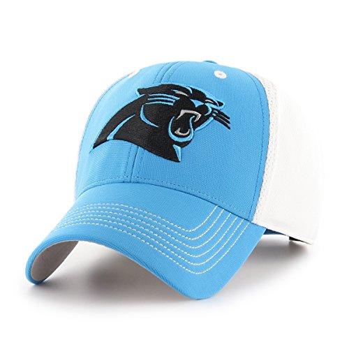NFL Carolina Panthers Sling OTS All-Star Adjustable Hat, Glacier Blue, One (Carolina Nfl)