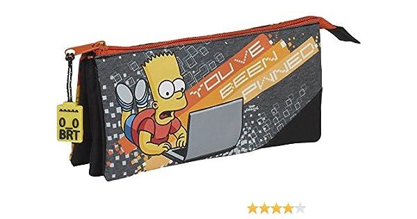 Safta Estuche Escolar The Simpsons
