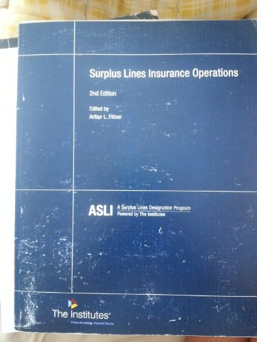 Surplus Lines Insurance Operations