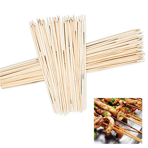 90PCs Barbecue Grill Mats Bamboo Skewers Grill Shish Wood Sticks Barbecue BBQ Tools Churrasco Disposable BBQ Supplies