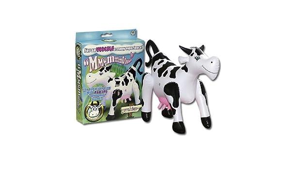 Little Daisy Inflatable Cow: Amazon.es: Hogar