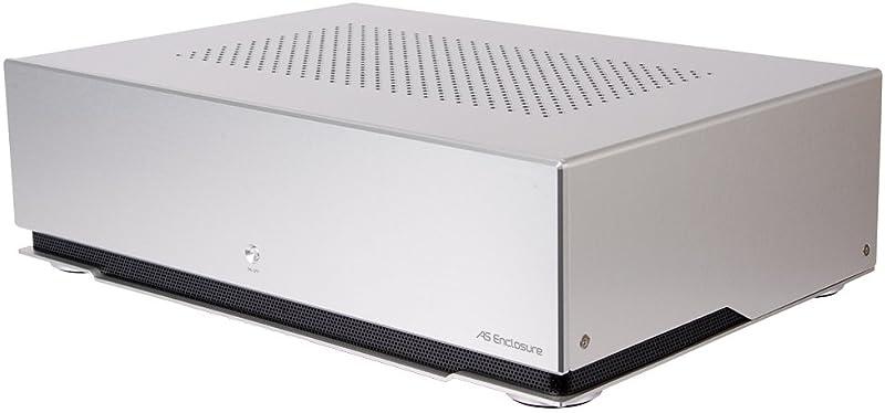 AS Enclosure RS04 PCケース シルバーアルマイト ASE-RS04-SV