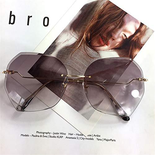 mode grand cadre soleil NIFG soleil de lunettes vintage Lunettes personnalité de de 4xRqnXv6