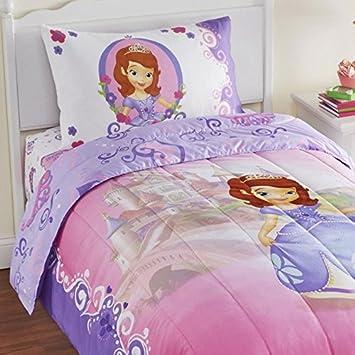 Amazon.com: 4pc Sofia the First Twin Bedding Set Disney Princess ...