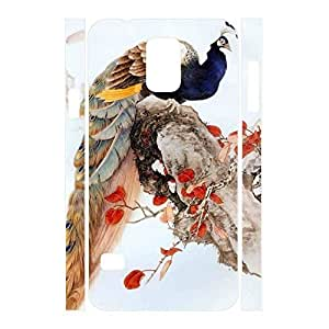 Beautiful Girly Peacock Hipster Phone Cover for Samsung Galaxy S5 I9600 Case
