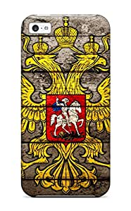 New Style Crest Fashion Tpu 5c Case Cover For Iphone
