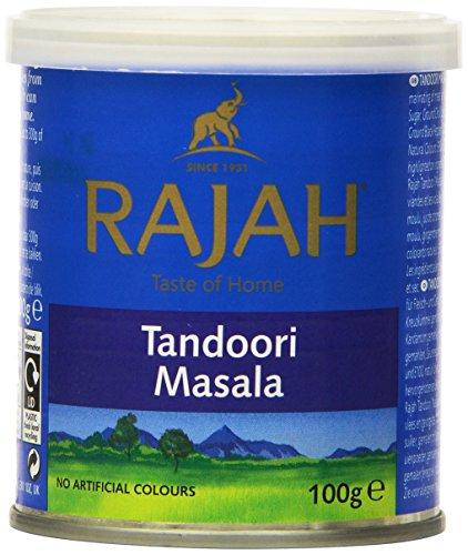 Rajah Tandoori Masala, 3.53-Ounce Unit (Pack of 6) by Rajah