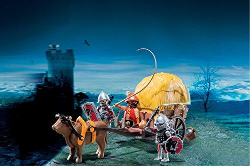 Playmobil-Caballeros-halcn-y-carruaje-6005