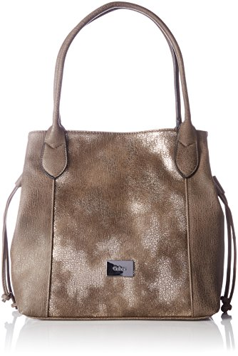 Women Glam Shoulder Granada And Gray Shoppers taupe Bags Gabor 75PwYqq