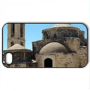 Agia Paraskevi - For Samsung Galaxy S6 Case Cover (Ancient Series, Watercolor style, Black)
