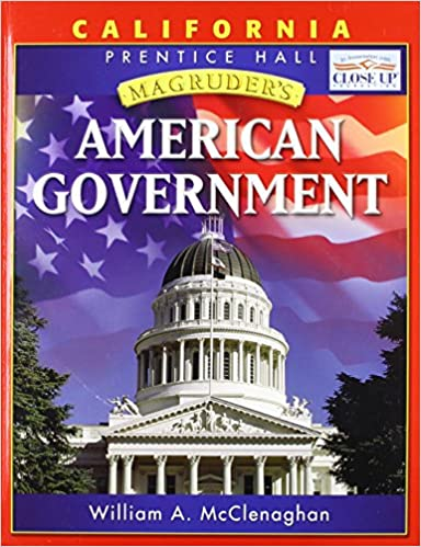 Magruders american government california edition william a magruders american government california edition william a mcclenaghan 9780131335790 amazon books fandeluxe Image collections