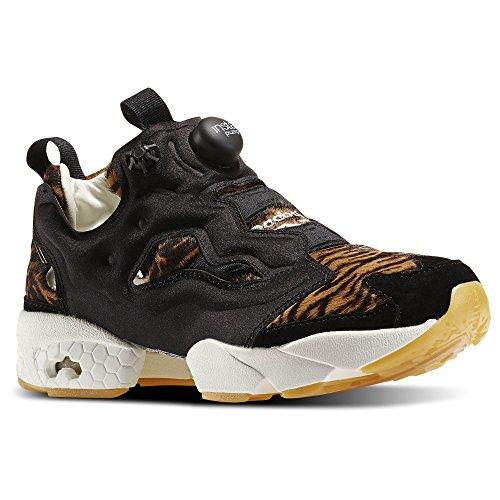 Reebok Womens Instapump Furia Sneaker Shere Khan-black / Gold Met