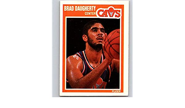 3f5fd9a6b6a6b Amazon.com: 1989-90 Fleer Basketball Card #25 Brad Daugherty ...