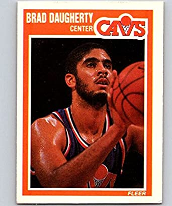 2d40cd6219e4f Amazon.com: 1989-90 Fleer #25 Brad Daugherty Cavaliers NBA ...
