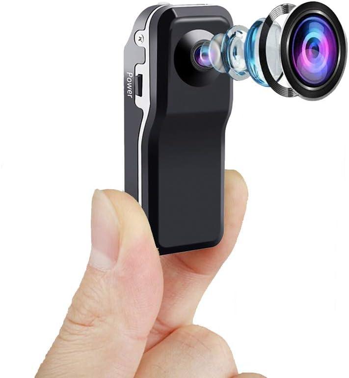 Mini Cámaras, USB Webcam Cámara per Windows/iOS, de Vigilancia de Seguridad para el Hogar Inalámbrica Pequeña HD, Cámara Micro Niñera con Visión Nocturna,Camara Seguridad Pequeña Interior/Exterior