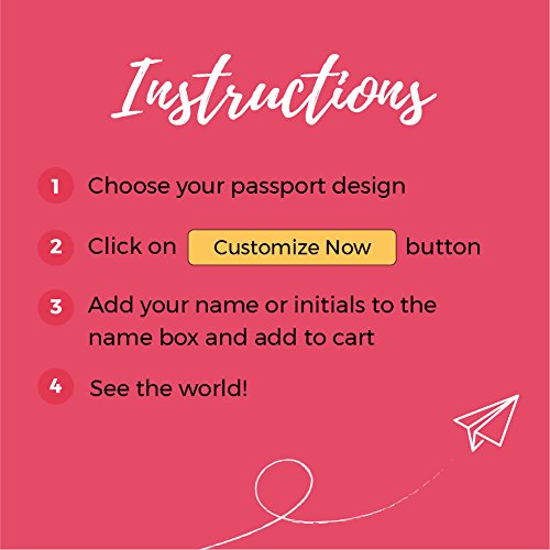Personalized Passport Holder - Wanderlust - Leather Passport Holder for Women by With Love From Julie (Image #5)