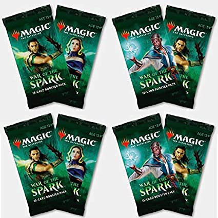 Booster Packs of Magic: The Gathering: War of The Spark Six 6 6 Pack - WAR Booster Draft Lot