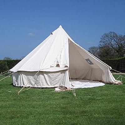 5m Tente de Bell avec cheminée de 450g/m² sur toile