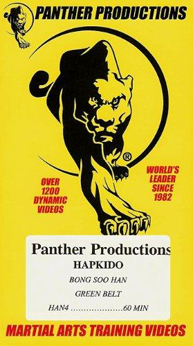Panther Martial Arts - HAPKIDO BONG SOO HAN GREEN BELT [ Panther Productions Martial Arts Training Video ]