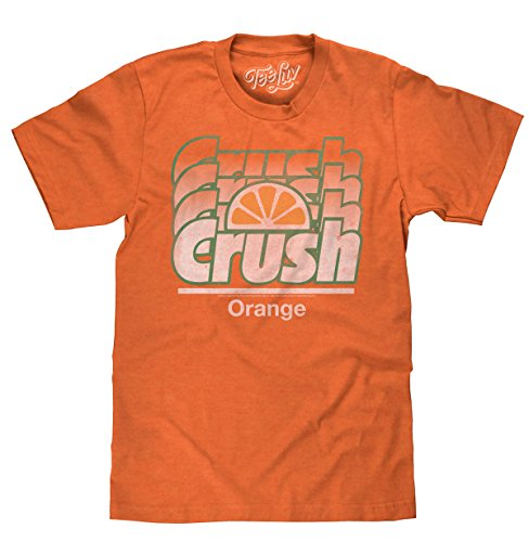 Tee Luv Orange Crush Crush Licensed Men