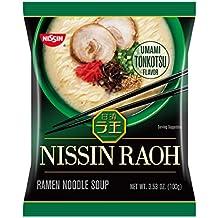 Nissin Raoh, Tonkotsu, 3.53 Ounce (Pack of 6)