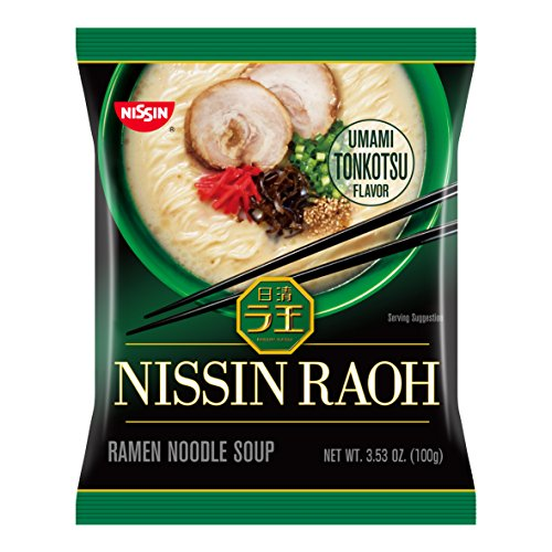Nissin Raoh, Tonkotsu, 3.53 Ounce (Pack of 6) (Best Japanese Instant Noodles)