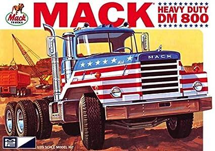 Amazon com: Mack DM800 Semi Tractor 1/25 MPC 899 Plastic