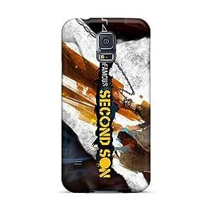 ChristopherWalsh Samsung Galaxy S5 Protective Hard Phone Cover Provide Private Custom Trendy Metallica Image [DLi18767nfIc]