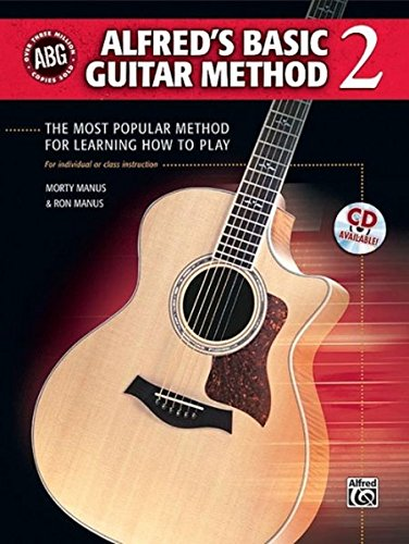 Download Alfred's Basic Guitar Method, Bk 2: The Most Popular Method for Learning How to Play, Book & CD (Alfred's Basic Guitar Library) ebook