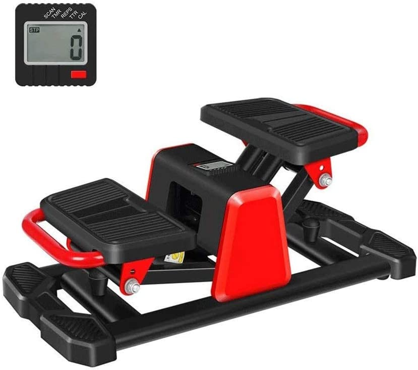 Hammer Mini de Pasos, Hogar Paso a Paso, Portátil Silencio Montañismo Deportes Adelgaza, Contar Inteligente, Multi-función de Pedal de la máquina Equipo de la Aptitud