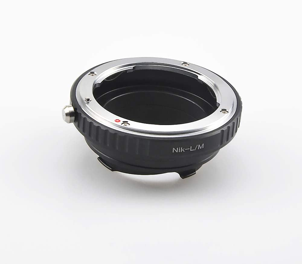 Compatible TECHART LM-EA 7 Adapter AI to LM Lens Adapter for Nikon F AI Lens to for Leica M L//M M9 M8 M7 M6 M5