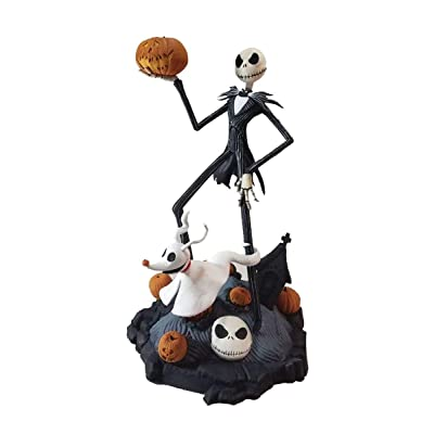 Nightmare Before Christmas Jack Skellington and Zero Finders Keypers Statue: Elephant Gun: Toys & Games