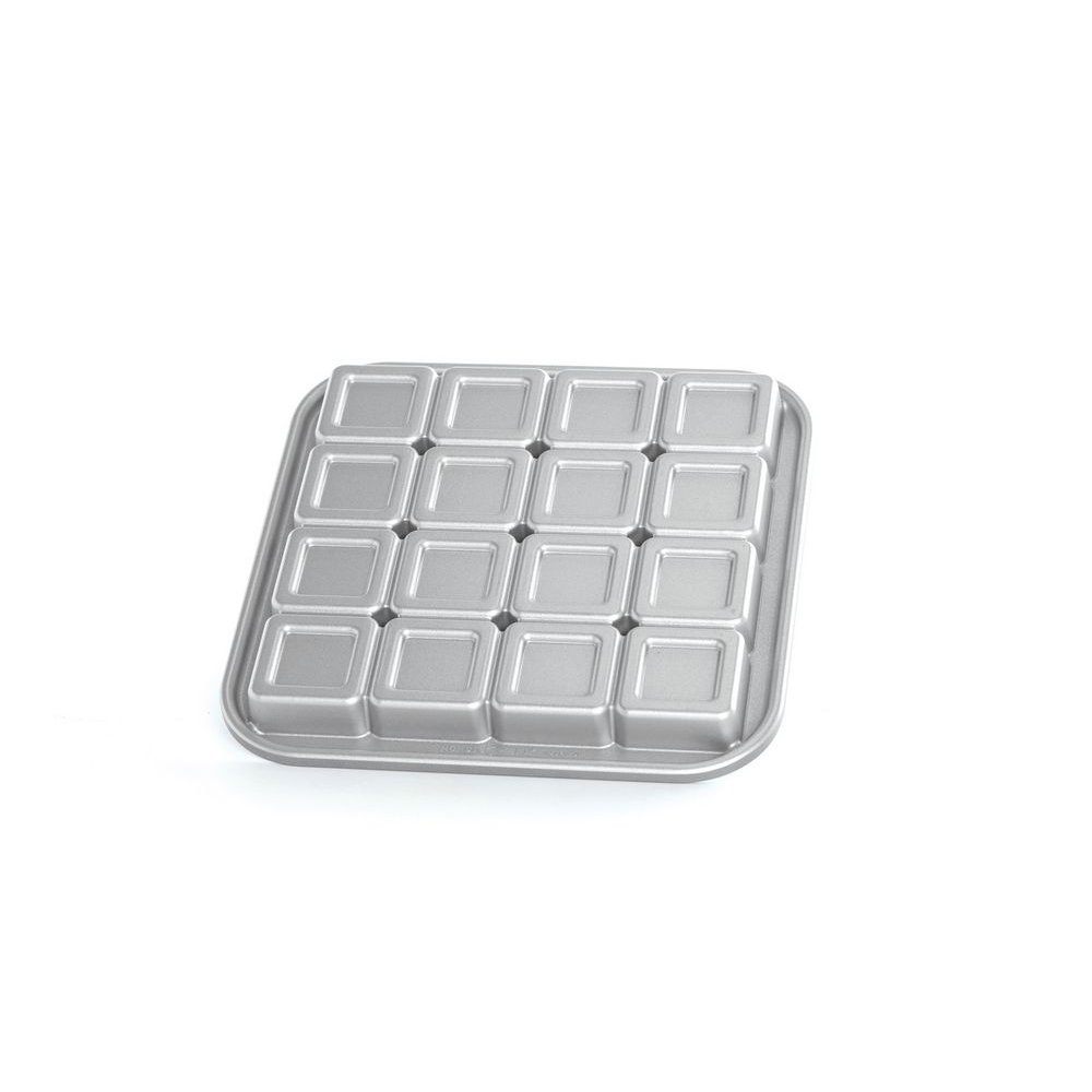 Home & Garden Cake Baking Mold Brownie Cake Tray Oven Baking Tool Cake Mould Square Shape Tool Beautiful And Charming