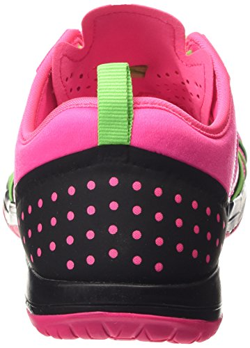 Nike Free Cross Compete - Zapatillas de gimnasia Mujer Rosa (pink pow/white/voltage green/black)