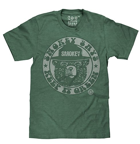 Popular Cotton Shirt (Tee Luv Smokey Keep It Green Licensed T-shirt-x-large)