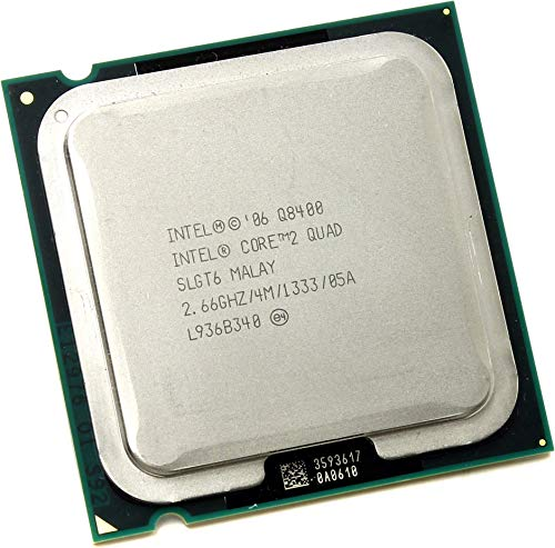 Intel Core 2 Quad Q8400 SLGT6 2.66GHz 4MB CPU Processor LGA775 (Renewed)