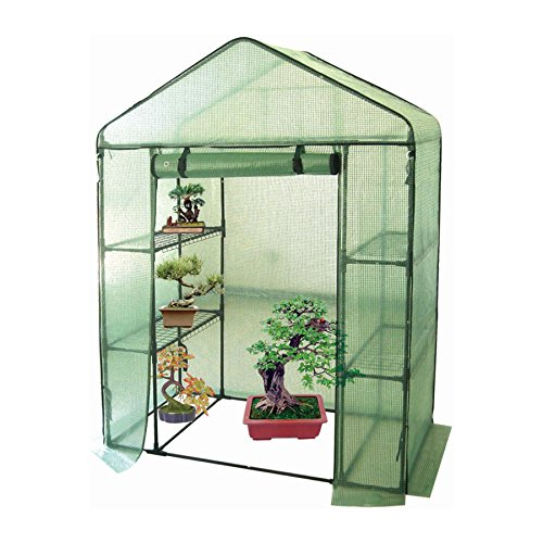Harbour Housewares Vegetable/Fruit Greenhouse With 4 Shelves & Strong...