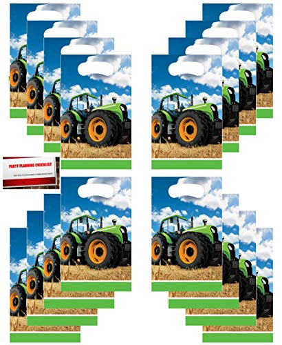 Tractor Time Party (16 Pack) Party Plastic Loot