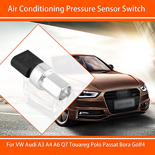 Car A/C Pressure Sensor Switch Air Conditioning Button for VW Audi A3 Q7  Touareg Passat Bora Golf 4
