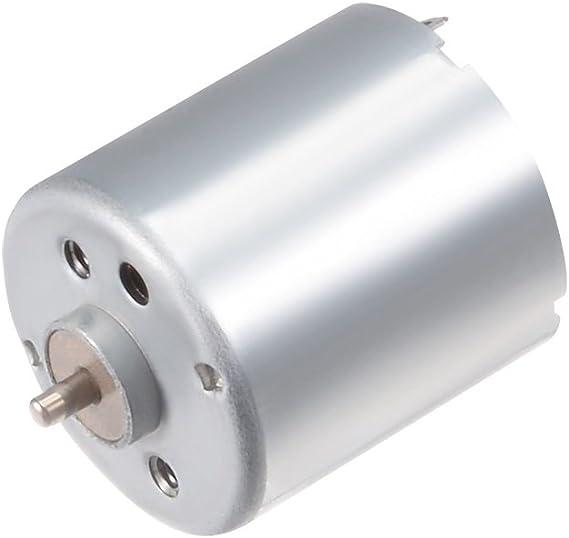 Eudax 6 Set Rectangular Mini Electric 1.5-3V 24000Rpm Dc Motor With 80 Pcs Wir