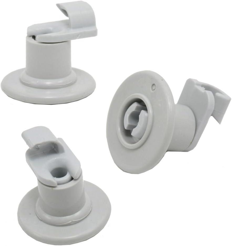 Whirlpool W99002781 Dishwasher Dishrack Roller Genuine Original Equipment Manufacturer (OEM) Part