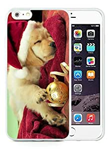 2014 Newest iphone 4s Case,Christmas Dog White iphone 4s TPU Case 45