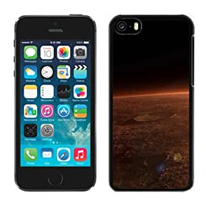 New Custom Designed Cover Case For iPhone 5C With Surface Of The Red Planet Fantasy Mobile Wallpaper Phone Case