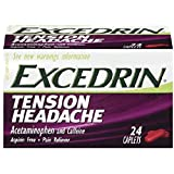 Excedrin Tension Headache Caplets - 24 ct, Pack of 4