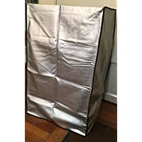 Frigidaire FFPA1422R1 Portable Air Conditioner Grey Padded Anti-Static Dust Cover with side package to put the remote control Dimensions 19W x 16D x 31H